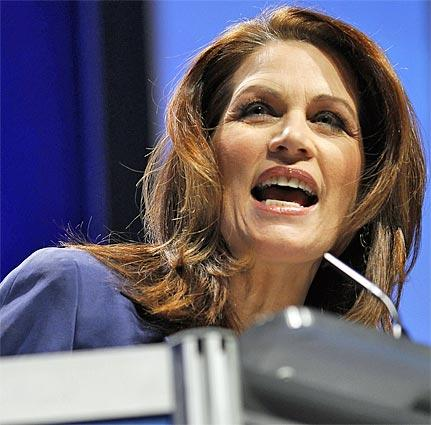 "Rep. Michele Bachmann, a ""tea party"" favorite,  used the first major presidential debate of the 2012 campaign to announce that she is formally running for president."