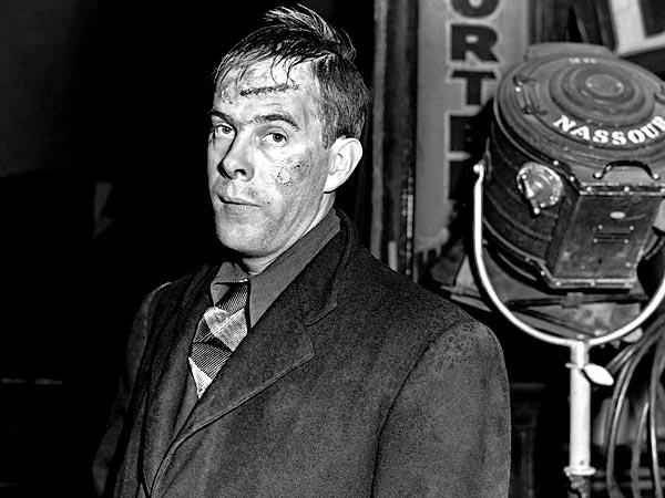 "Harry Morgan appears in the play ""Red Light."""
