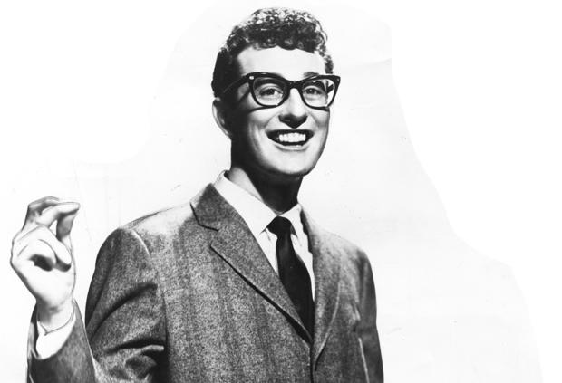 "In his short musical career, Holly had a fundamental influence on early rock and roll. He was 22 when he died in a plane crash in February 1959.<br> <br> <b>Related:</b><br> <br> <a href=""http://blog.zap2it.com/thedishrag/2010/02/the-day-the-music-died----51-years-ago-we-lost-the-big-bopper-ritchie-valens-and-buddy-holly.html"">The Day the Music Died</a>"