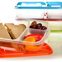 Plastic lunch container