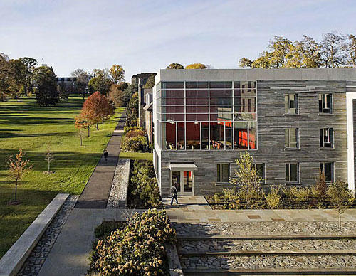 "<b>Swarthmore College Residence Halls, Swarthmore, Pa.</b><br> <br> <b>Architect:</b> <a href=""http://www.rawnarch.com/""><u>William Rawn Associates, Architects</u></a>"