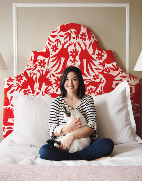 "Design Sponge blogger Grace Bonney,  above, has taken a break from the Internet for a moment to publish ""Design Sponge at Home,"" a hardback compilation of the site's best decorating ideas.<br> <br> The book, released Sept. 13, is the latest in a refreshing string that focuses on affordable, eclectic interiors. The homes featured here are aspirational but realistic, as iconic furnishings share space with inexpensive finds from thrift stores, flea markets, EBay and Etsy."
