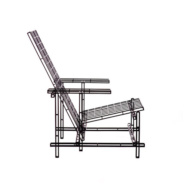 "<a href=""http://www.janplechac.com/"">Plechac's</a> Icon03 plays off Gerrit Rietveld's famed chair."