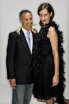 "Roger Gendron and Jeannine Denholm looked classy.<br> <br> <b>MORE PHOTO BOOTHS:</B><br> <br> <a href=""http://www.latimes.com/features/image/la-lucha-vavoom-photobooth-pictures,0,4824967.photogallery"">Lucha Vavoom</a><br> <br> <a href=""http://www.latimes.com/features/image/la-ig-0809-polobooth-pictures,0,4720165.photogallery"">The Veuve Clicquot Robert Skene Trophy Finals Polo Match </a><br> <br> <a href=""http://www.latimes.com/features/image/la-sp-1984-olympic-portraits-pictures,0,6555242.photogallery"">1984 Olympians today</a><br> <br> <a href=""http://www.latimes.com/features/image/la-ig-faces-comic-con-pictures,0,6620702.photogallery"">Comic-Con 2009</a><br> <br> <A HREF=""http://www.latimes.com/features/image/la-ig-photobooth-mg,0,4276207.gallery""> More party and event pictures</a>"