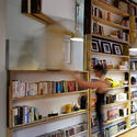 The UnWaste Revolving bookcase