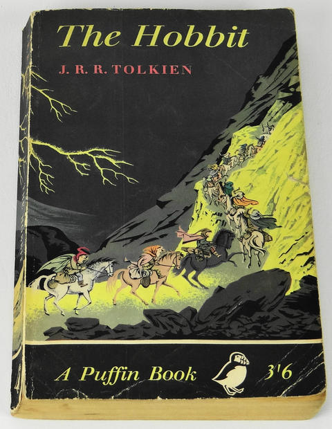 "This 1961 British paperback edition of ""The Hobbit"" is listed on ebay from an American seller for $195."