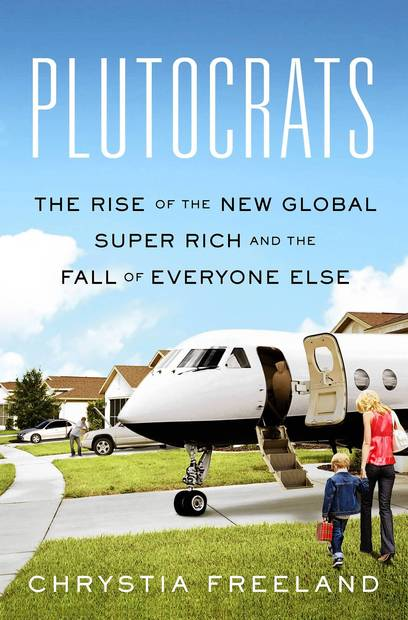 <strong>Plutocrats</strong><br>  <strong>The Rise of the New Global Super-Rich and the Fall of Everyone Else</strong><br>  <strong>Chrystia Freeland</strong><br>  Penguin Press, $27.95<br>  Forget the 1%: this new book offers a glimpse at the lives of an even more elite group while also painting a sobering picture of the widening gap between the working class and filthy rich.<br>