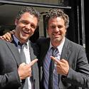 Mark Ruffalo and Stunt Double