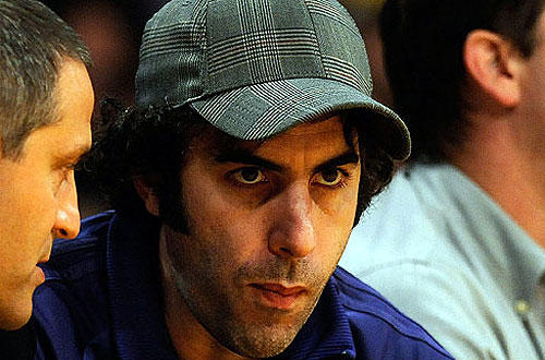 "Sacha Baron Cohen, of ""Bruno"" and ""Borat"" fame."