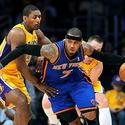 Metta World Peace, Carmelo Anthony