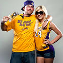 Lakers photo booth