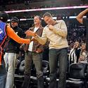 Denzel Washington, Spike Lee, Lakers