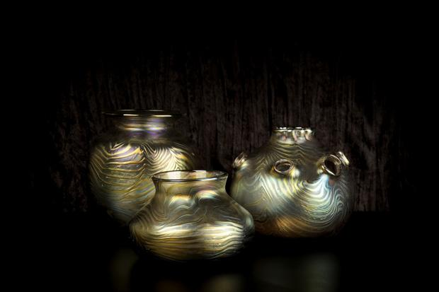 "The Pasadena curiosity shop Gold Bug has the hand-blown glass of local artist Evan Chambers. Some of his vases have a finish that  evokes traditional Tiffany glass but come in forms that pleasingly depart from convention. <br><br> $120 to $280, <a href=""http://goldbugpasadena.com/holiday-gift-guide"">Gold Bug</a>, 22 E. Union St., Pasadena, (626) 744-9963"