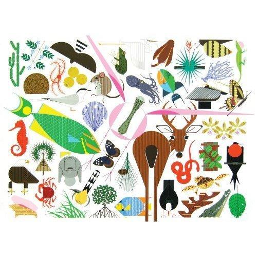 "More than 300 previously unseen illustrations are included in <a href=""https://www.charleyharperprints.com/shop/charley-harpers-animal-kingdom-new-by-todd-oldham/""> ""Charley Harper's Animal Kingdom""</a> (Ammo Books; $100). The oversized coffee-table book lets the midcentury illustrator's work play on a large canvas."