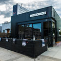 Superba Snack Bar, exterior design