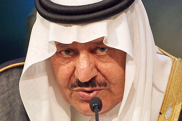 "The former head of Saudi Arabia's Interior Ministry was an authoritarian who cracked down on political dissent. After a series of attacks inside the kingdom, he became a close Washington ally against Al Qaeda. He died just months after he was named heir apparent in the world's leading oil power. He was 78. <a href=""http://www.latimes.com/news/nationworld/world/middleeast/la-me-crown-prince-nayef-20120617,0,2111911.story""><span class=""center_label"">Full obituary</span></a><br>