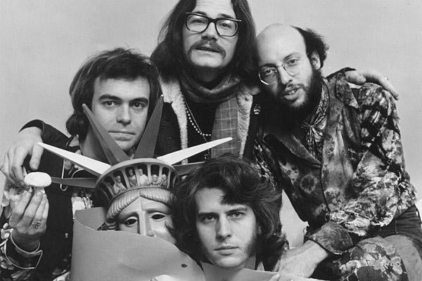 "Peter Bergman was a founder of Firesign Theatre troupe, a comic quartet that channeled the absurdist sensibility of the countercultural 1960s and '70s into a popular radio show and a series of cult-classic albums. Above, Bergman, top right, and his Firesign Theatre cohorts, clockwise from bottom, Phil Austin, Phil Proctor and Dave Ossman. He was 72. <a href=""http://www.latimes.com/news/obituaries/la-me-peter-bergman-20120310,0,6089210.story""><span class=""center_label"">Full obituary</span></a><br>