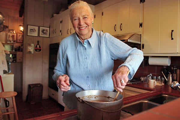 "The icon of American cooking's devotion to standard American fare made her a venerated figure in the food world. Her revised edition of ""The Fannie Farmer Cookbook,"" a basic text for home cooks since 1896, brought her philosophy of preserving the nightly supper hour back into the mainstream. She was 90. <a href=""http://www.latimes.com/news/obituaries/la-me-marion-cunningham-20120712,0,6627297.story""><span class=""center_label"">Full obituary</span></a><br>