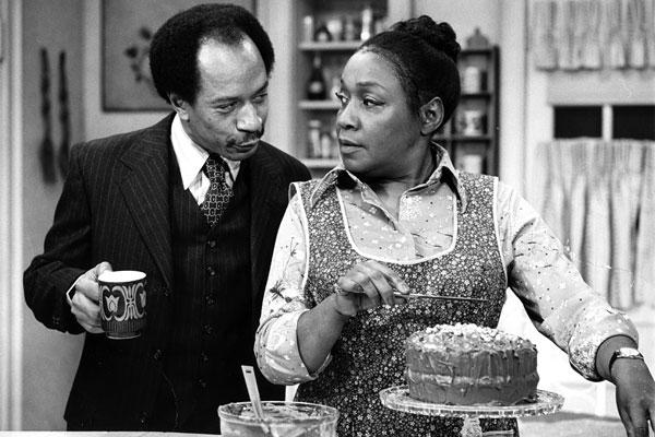"Playing Archie Bunker's bombastic black neighbor, George Jefferson, in ""All in the Family"" and later as the star of his own long-running sitcom, ""The Jeffersons,"" Hemsley was one of television's most widely watched black actors. His career spanned four decades, with guest appearances on ""The Fresh Prince of Bel-Air"" and ""Family Matters."" He was 74. <a href=""http://www.latimes.com/news/obituaries/la-me-sherman-hemsley-20120725,0,1264820.story""><span class=""center_label"">Full obituary</span></a><br>