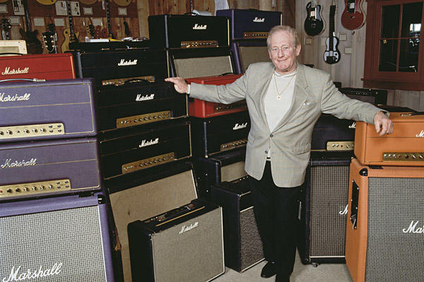 "The creator of famed rock 'n' roll amplifiers, Jim Marshall provided the gritty roar for Jimi Hendrix, Motley Crue and even the fictional Spinal Tap. His amplification gear dominated rock stages since its introduction in the early 1960s, bestowing on guitarists the ability to achieve unprecedented volume and controlled distortion. He was 88. <a href=""http://www.latimes.com/news/custom/scimedemail/la-me-jim-marshall-20120406,0,1105011.story""><span class=""center_label"">Full obituary</span></a><br>
