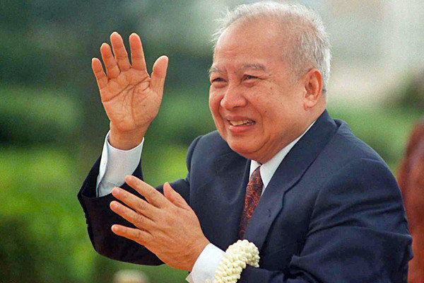 "The former king of Cambodia was a crafty political survivor whose fortunes were entwined with U.S. military involvement in Indochina. Long a symbol of Cambodian nationalism and independence, he was one of Southeast Asia's most colorful statesmen. He was 89. <a href=""http://www.latimes.com/news/obituaries/la-me-norodom-sihanouk-20121015,0,5439601.story"" class=""center_label"">Full obituary</a><br>