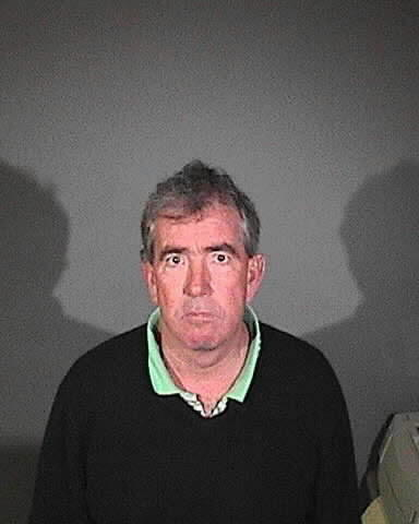The booking photo for former Coliseum general manager Patrick Lynch, who was charged by the district attorney's office for embezzlement and conflict of interest. On Wednesday, Lynch pled guilty to one count of conflict of interest.