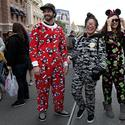 Pajamas on Main Street