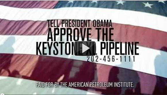 A  TV ad produced by the American Petroleum Institute claims the Keystone XL pipeline project will create 20,000 short-term jobs, but opponents say this is a discredited and greatly inflated number.