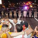 Police prepare for Laker rioting