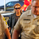 Lindsay Lohan appears in court after failing drug test