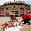 Angel Stadium memorial