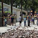 Chino Hills earthquake - Bricks from Pomona building