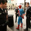 Spider-Man impersonator arrested