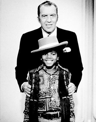"<a href=""http://latimesblogs.latimes.com/showtracker/2009/06/michael-jackson-tv-artist.html"">Michael Jackson with Ed Sullivan</a>. Jackson and his brothers first performed together at a talent show when Jackson was 6."