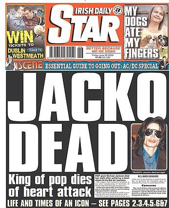Irish Daily Star in Dublin