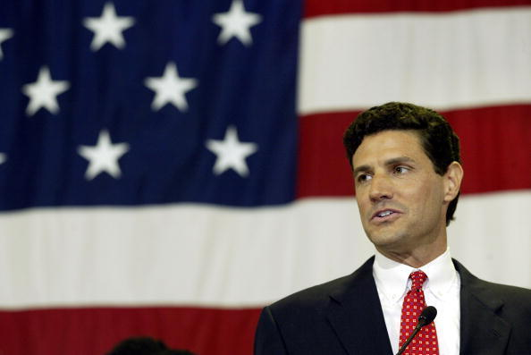 Republican Jack Ryan abandoned his 2004 campaign for a Senate seat in Illinois after allegations in a divorce case that he had taken his wife -- actress Jeri Ryan, whom he divorced in 1999 -- to sex clubs. Barack Obama was elected to the Senate seat.