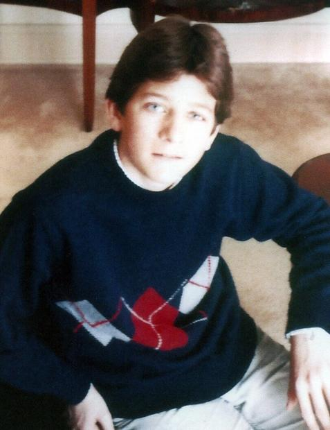 This undated photo provided by the Ryan family shows a young Paul Ryan.