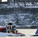 US Airways plane crashes in Hudson