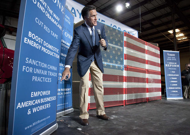 "In both of his debates with President Obama, GOP rival Mitt Romney has asserted that there are ""23 million"" Americans ""out of work."" That figure combines estimates from the Bureau of Labor Statistics of people who are out of work -- the unemployed, who number about 12 million -- with part-time employees who'd rather be working full-time -- the underemployed, about 8.6 million -- and those who've given up finding work or are only marginally attached to the labor force -- 2.5 million. It's fair to say these people are struggling to find enough work, but Romney's statements imply that they're all jobless."