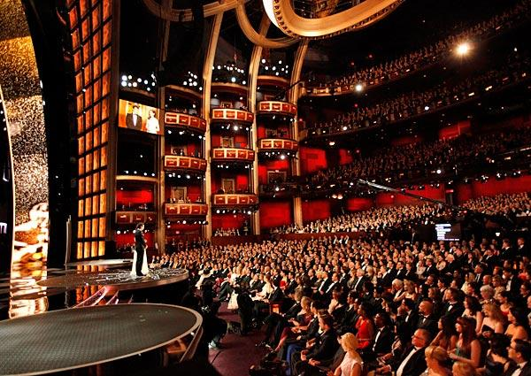 audience at the 2013 Oscars