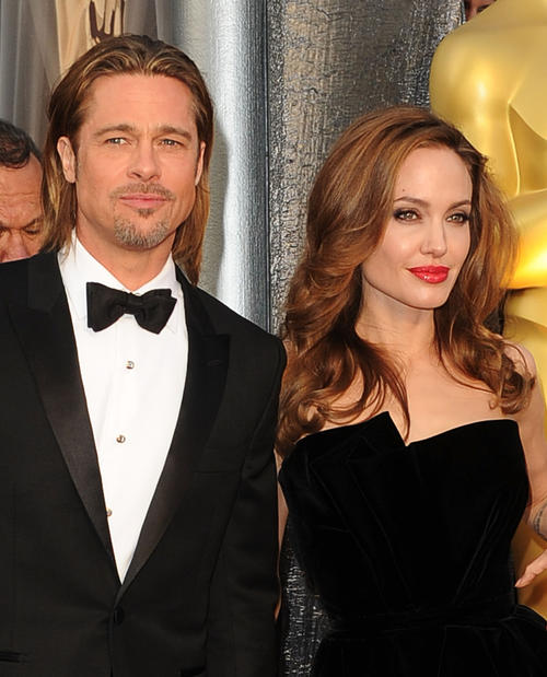 "Academy Award nominee Brad Pitt (""Moneyball"") and his Oscar-winning partner Angelina Jolie."