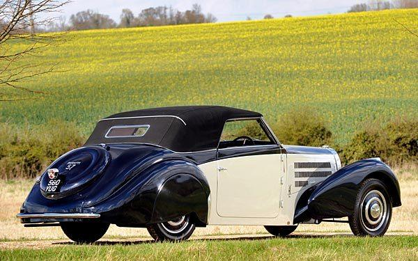 A 1938 Bugatti Type 57C Stelvio is expected to fetch $1.3 million to $1.6 million at the 2012 Pebble Beach auctions.