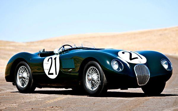 A 1953 Jaguar C-Type is expected to fetch $4 million to $5.5 million at the 2012 Pebble Beach auctions.