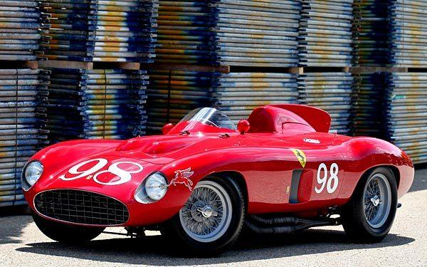 A 1955 Ferrari 857 Sport Scaglietti Spider 0588 M is expected to fetch $5 million to $7 million at the 2012 Pebble Beach auctions.