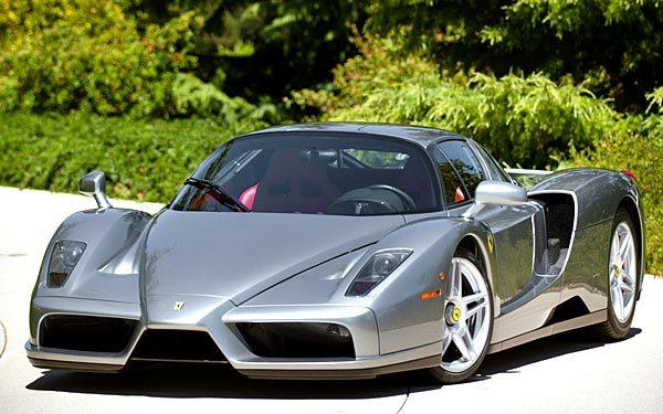A 2003 Ferrari Enzo is expected to fetch $1.2 million to $1.5 million at the 2012 Pebble Beach auctions.