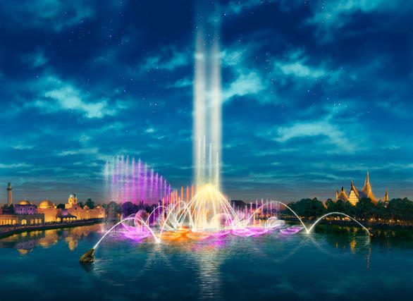 A 10-minute nightly performance of Aquanura will take place at the Netherlands' Efteling theme park.