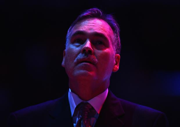 Mike D'Antoni before the game against the Indiana Pacers on Tuesday.