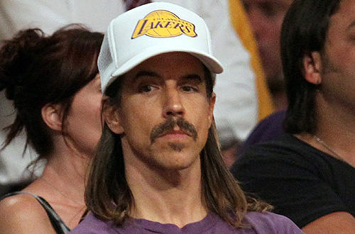 Red Hot Chili Pepper Anthony Kiedis hopes to fire up the Lakers in Game 6 at Staples versus the Celtics.