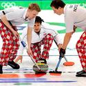 Day 11: Norwegian men's curling team