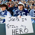 Fan support for Joe Paterno